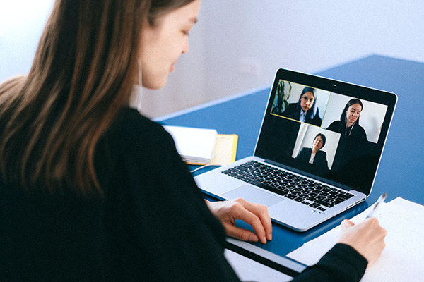 Video conferencing for a remote workforce