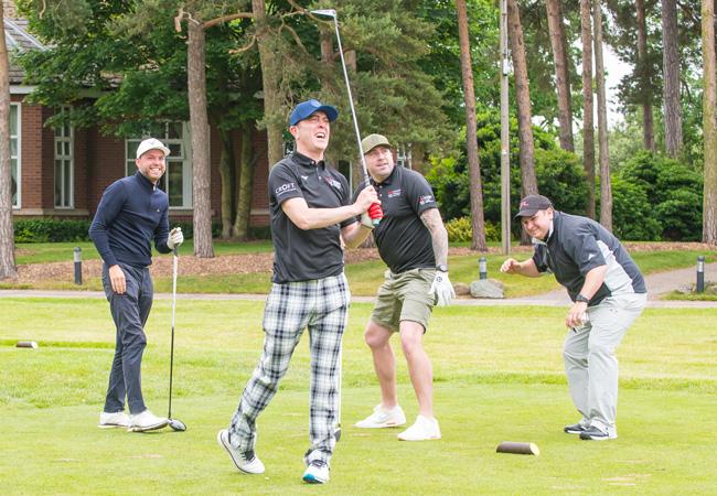 James Nesbitt at the ISPS Handa Mike Tindall Celebrity Golf Classic 2021